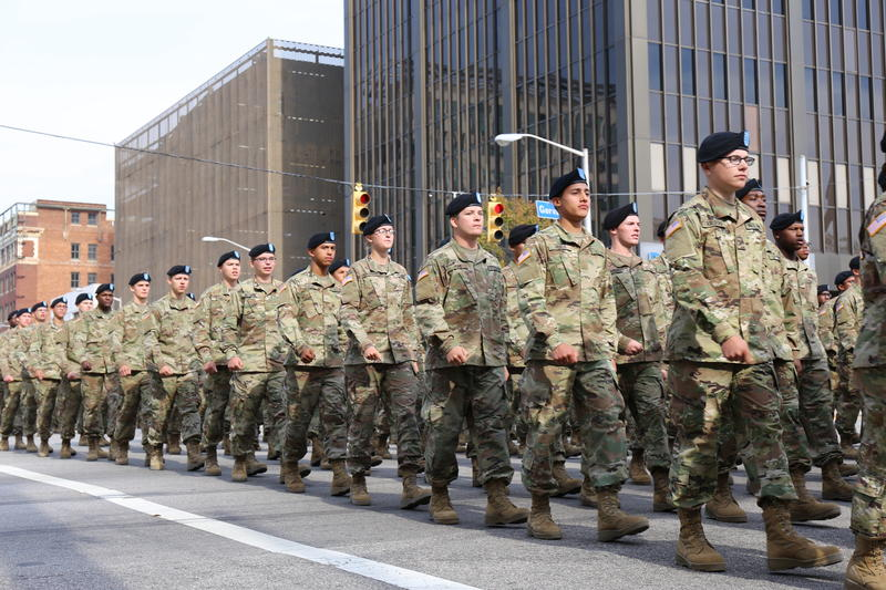 Soldiers from Fort Jackson lead City of Columbia's Veterans Day Parade. Over the past two years, the area has seen a 14% decline in homelessness. According to the United Way, Veterans typically make up 15-17% of that population.