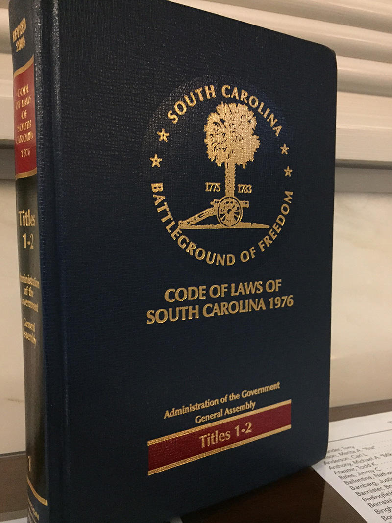 The South Carolina Code of Laws
