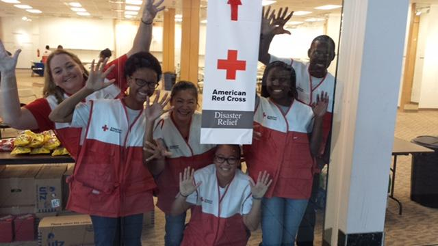After the 2015 floods, VolunTEENs served at the Multi-Agency Resource Center. October 18, 2015