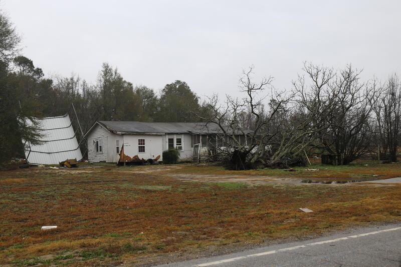 Debris in Nichols, SC