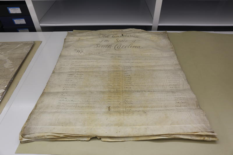South Carolina's Third Constitution, Ratified in 1790