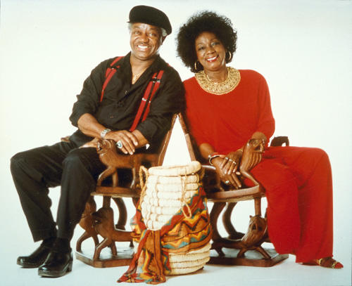 Jeannie Cheatham with her late husband, Jimmy Cheatham.