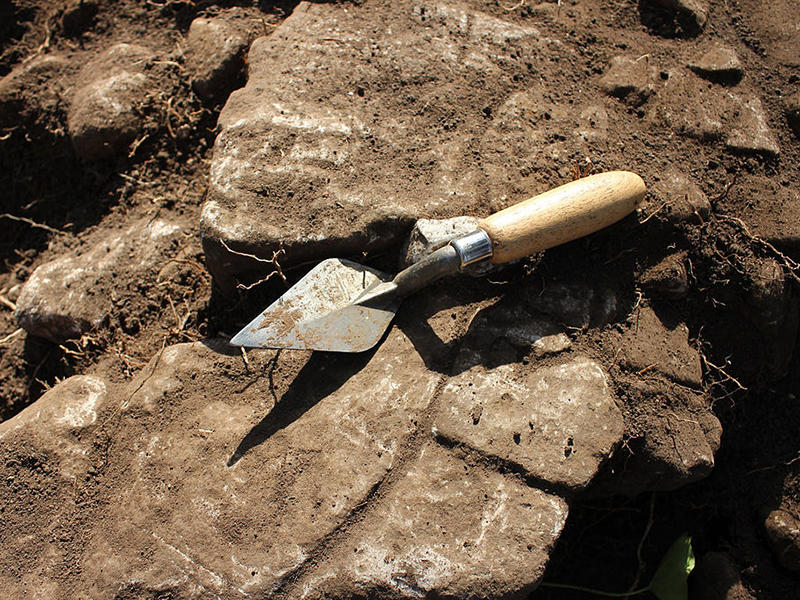 Archaeology trowel