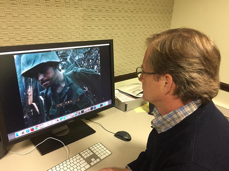 Greg Wilsbacher reviews Marine film from the Vietnam era.