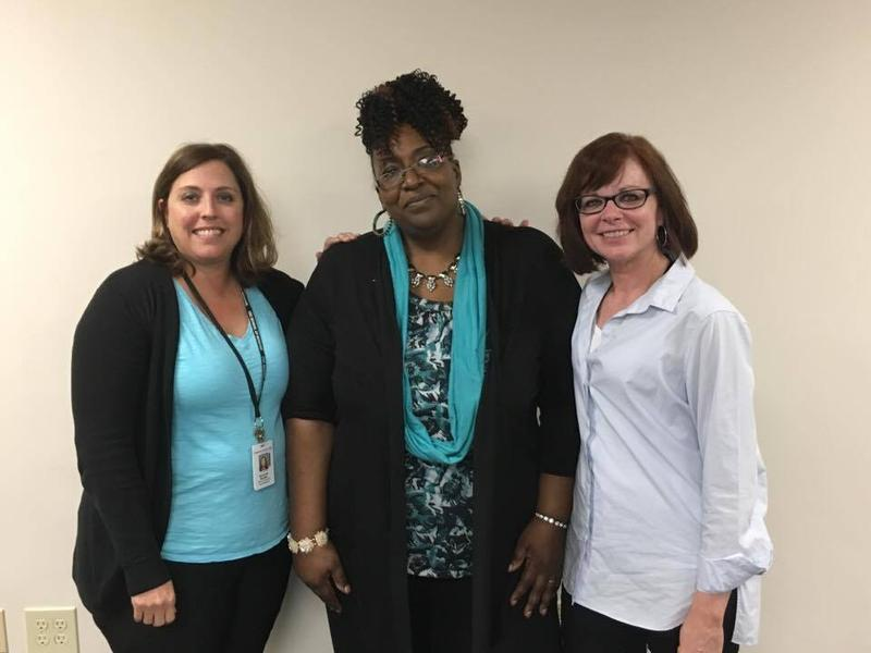 From left to right: Suzanne Snyder, Stacy Massard, Carmen Bowie