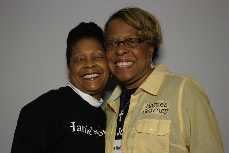 Dr. Felicia McGowen and her mother Hattie Williams, Columbia 2016