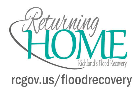 Richland County flood recovery logo