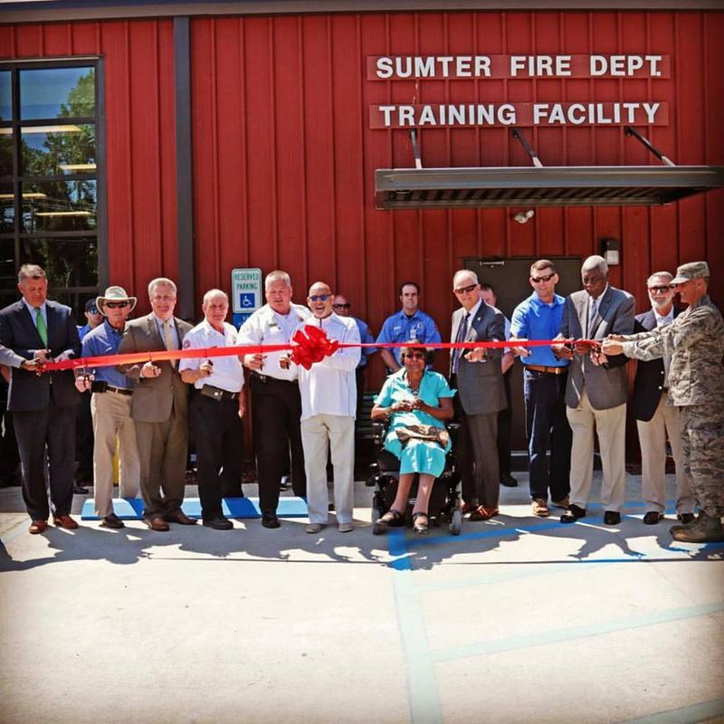 Sumter Fire Department Reopens Flooded Training Facility