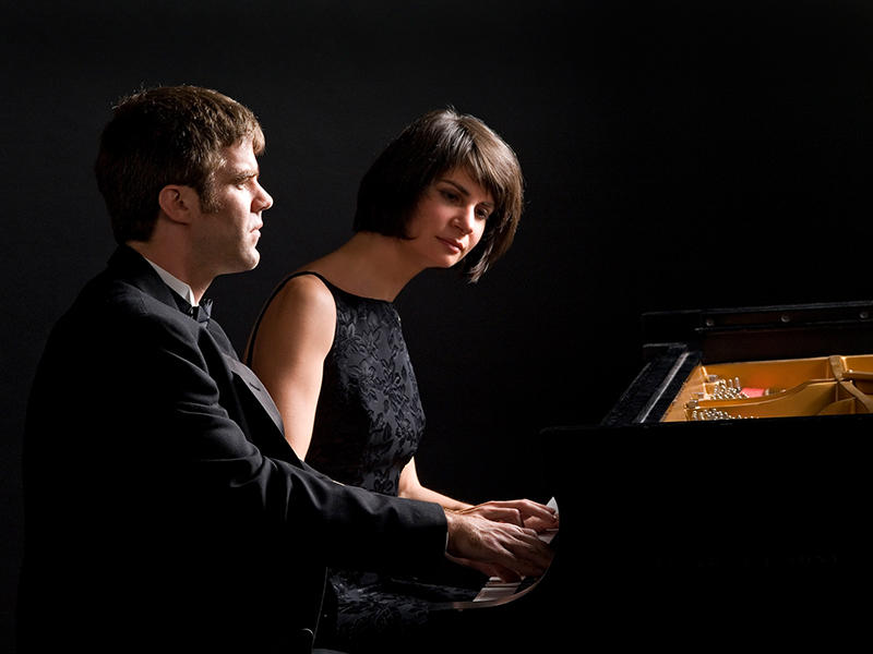 Joseph Rackers and Marina Lomazov