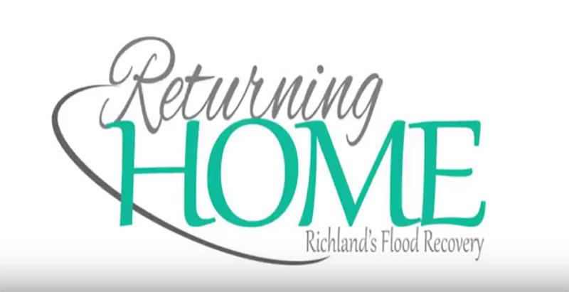 "Title graphic from Richland County's ""Returning Home"" video."