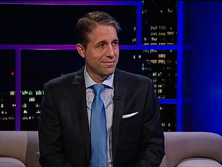 Derek W. Black on the Tavis Smiley Show in 2016.
