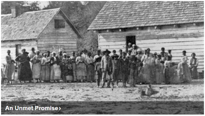 Reconstruction-era photo of African Americans