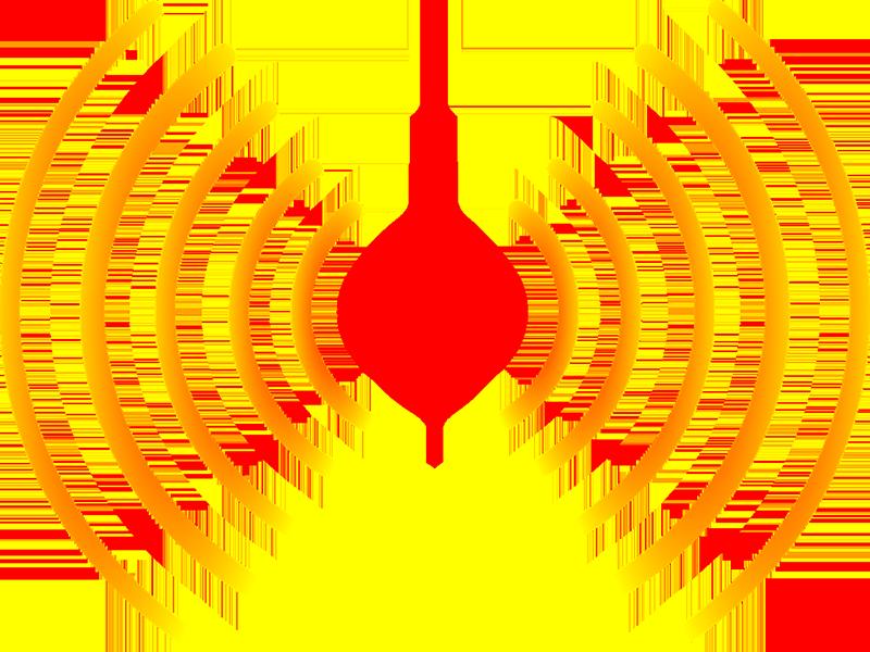 radio wave graphic