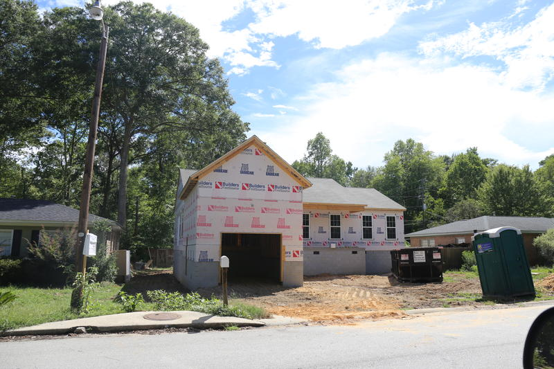 Lexington County Flood-damged home being rebuilt to new elevation guidelines