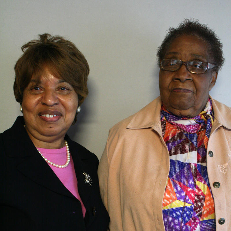 Mary Alice Mack and Christine O. Jackson, Charleston 2012