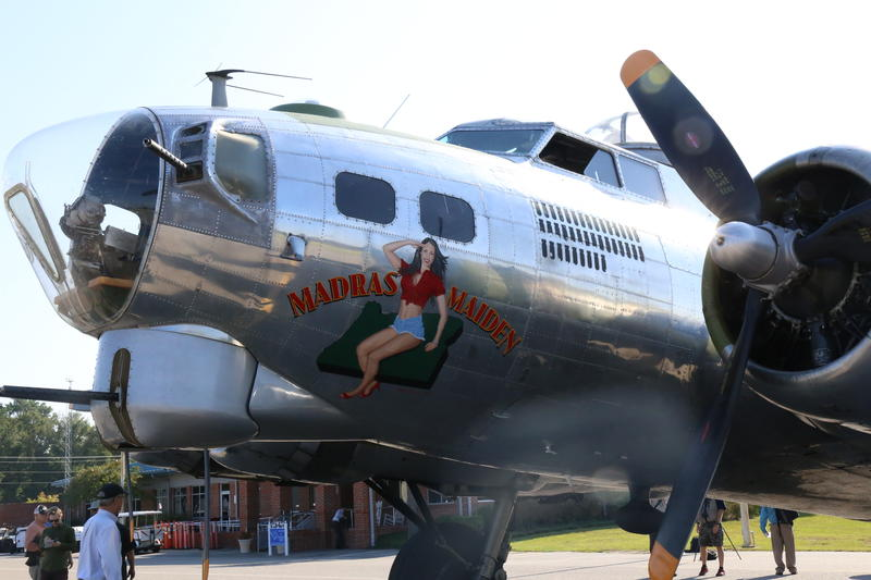 The Madras Maiden B-17 Bomber