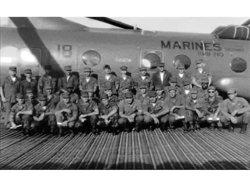 Marine Corp HMM-263 (Vietnam) Helicopter Squadron, know as The Peach Bush Book Club