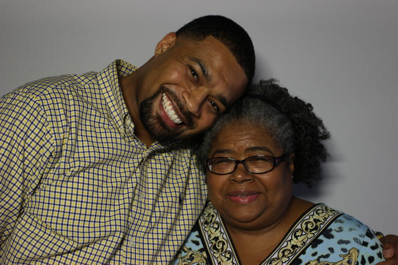 L. Kobie Wilkerson and his mother Ida Charmaine Wilkerson-Morton, Columbia, 2016.