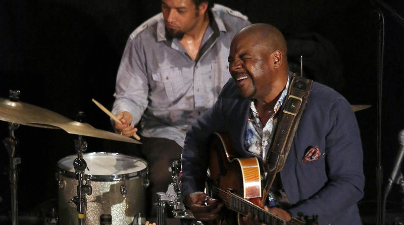 Bobby Broom with drummer Makaye McCraven, INNone Jazzfestival, 2013.