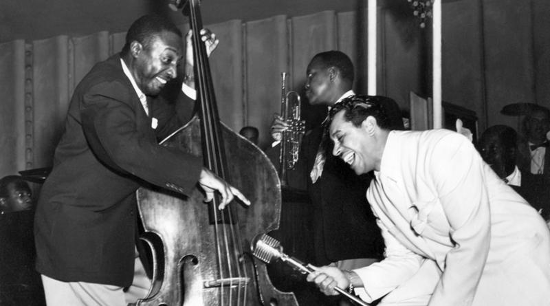 Milton Hinton with Cab Calloway.