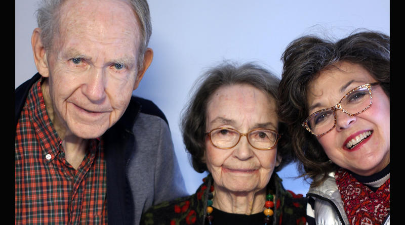 "Henry ""Harry"" Bull Jr., Sarah Clarkson, and Margaret Clarkson, Columbia 2016"