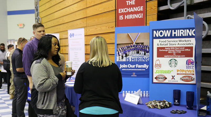More than 75 organizations from across country attend Fort Jackson career fair.
