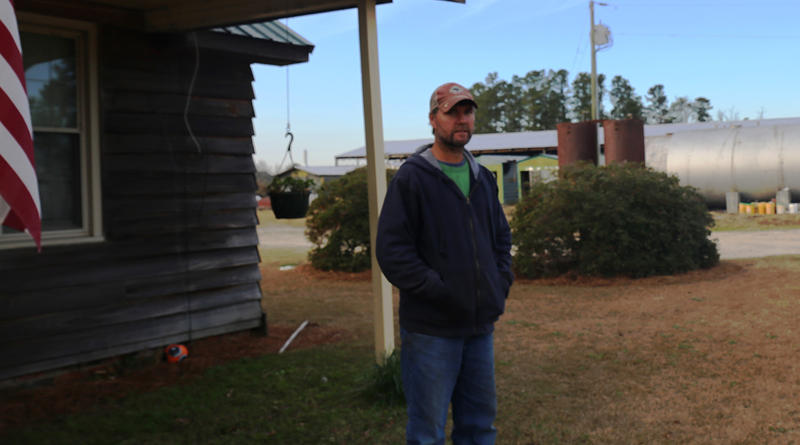 Jeremy Cannon of Cannon Ag Products is one of many farmers who is still recovering from the flood of October 2015 and Hurricane Matthew in 2016.