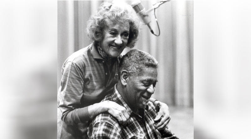 Marian McPartland and Dizzy Gillespie.