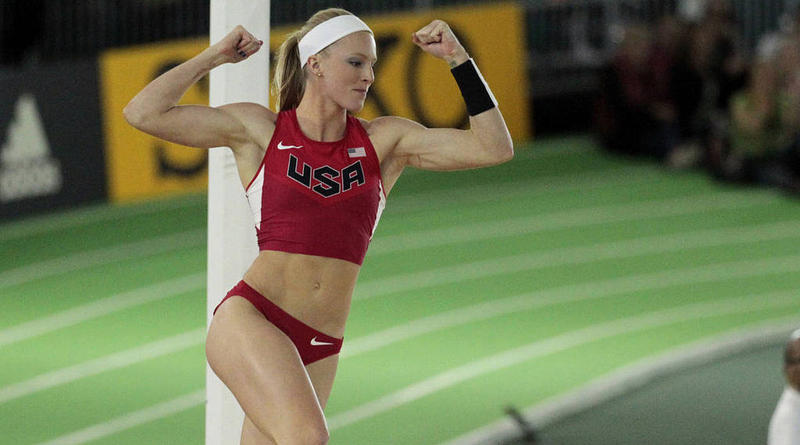 Sandi Morris, a native of Greenville, won the women's pole vaulting silver medal at the Rio summer Olympics in 2016.  She quickly followed this victory by becoming the American women's outdoor pole vaulting champion with a 5- meter jump in Brussels.