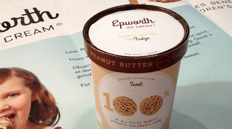 Epworth Children's Home in Columbia will soon make available to the public a treat that its residents and visitors have enjoyed for decades: peanut butter ice cream, which has been produced at the home since the Great Depression.