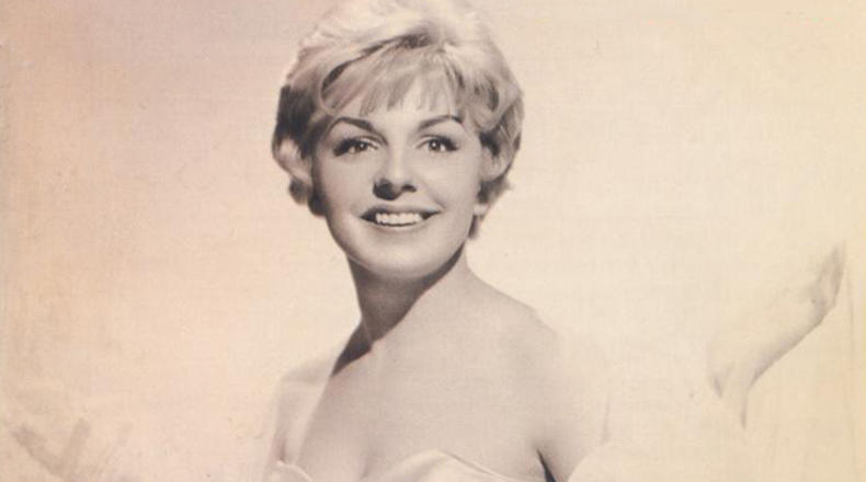 Carol Sloane, in an early promotional photo, 1958.