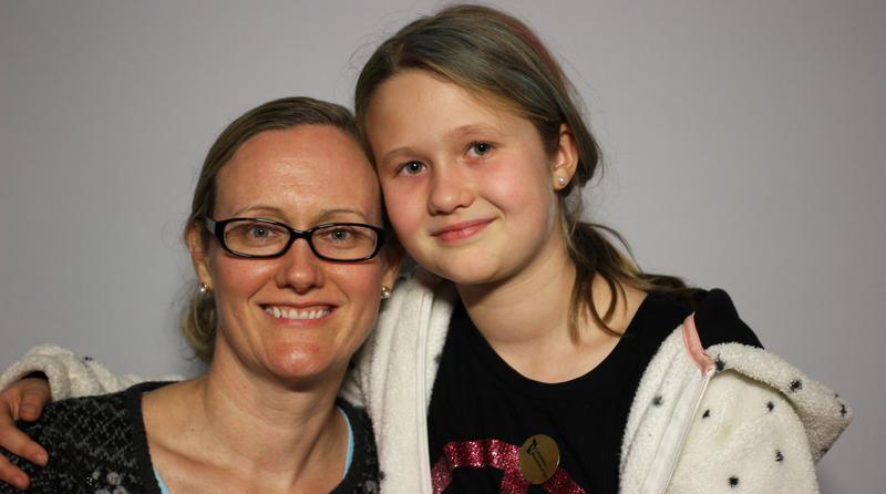 Shannon Bobertz and her daughter, Sarah, Columbia 2016
