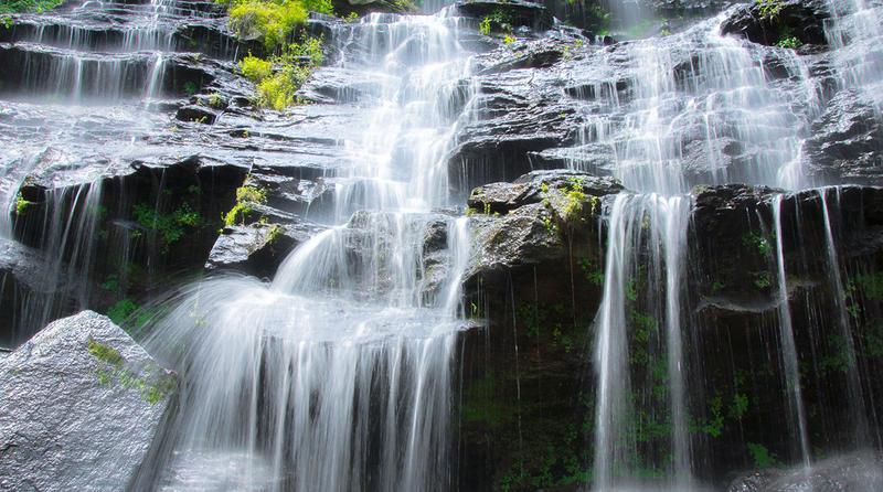 Issaqueena Falls.