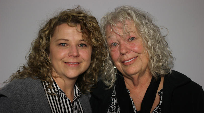 Tonya German and her mother Nancy Wegner, Columbia 2016