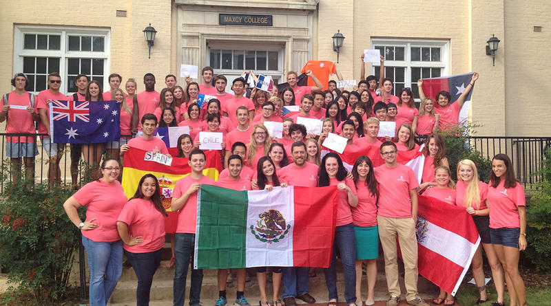 USC's Maxcy College is home to students of many nations.  The International House builds lifelong bridges of friendship and understanding, and prepares many American and foreign students for international careers.