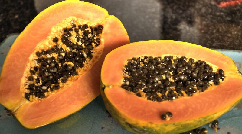 Pawpaw fruit.
