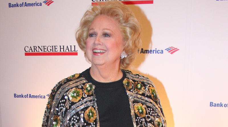 Barbara Cook at the 120th Anniversary of Carnegie Hall gala, MOMA, New York City. (April 12th 2011)