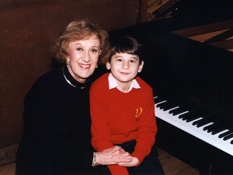 Marian McPartland and Eldar Djangirov, Avatar Studios, New York City, 1999