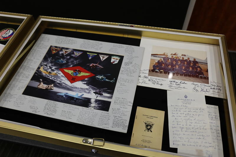 The Charles F. Bolden Jr. Collection includes personal items such as letters and photographs, as well as items from Bolden's time serving both NASA and the U.S. military.
