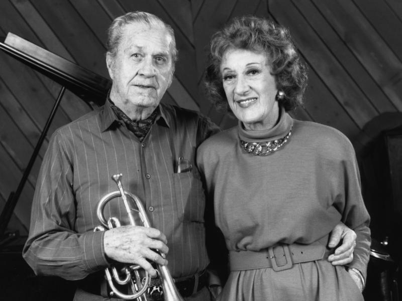 Jimmy McPartland and Marian McPartland, 1989
