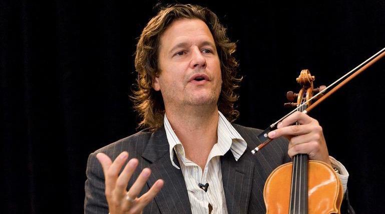 Spoleto Festival USA Chamber Music director, Geoff Nuttall.