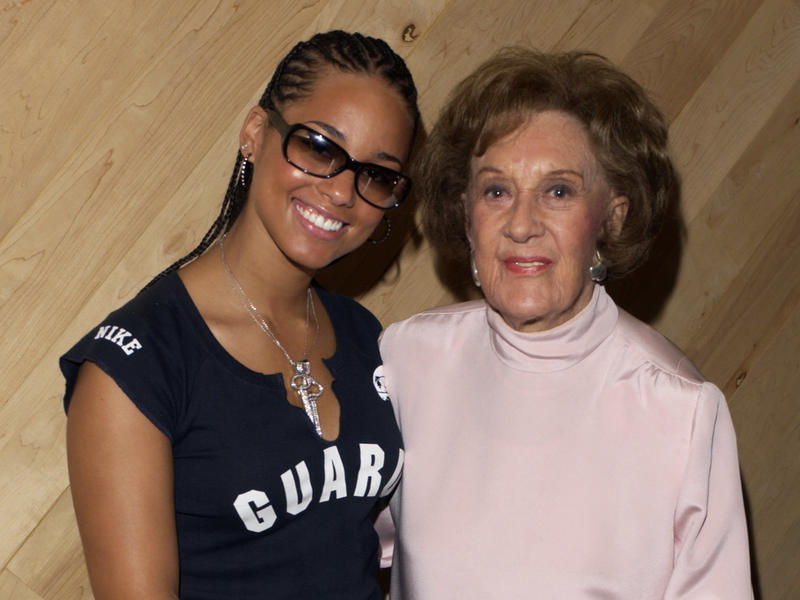 Marian McPartland and Alicia Keys, Manhattan Beach Studios, New York City, 2003