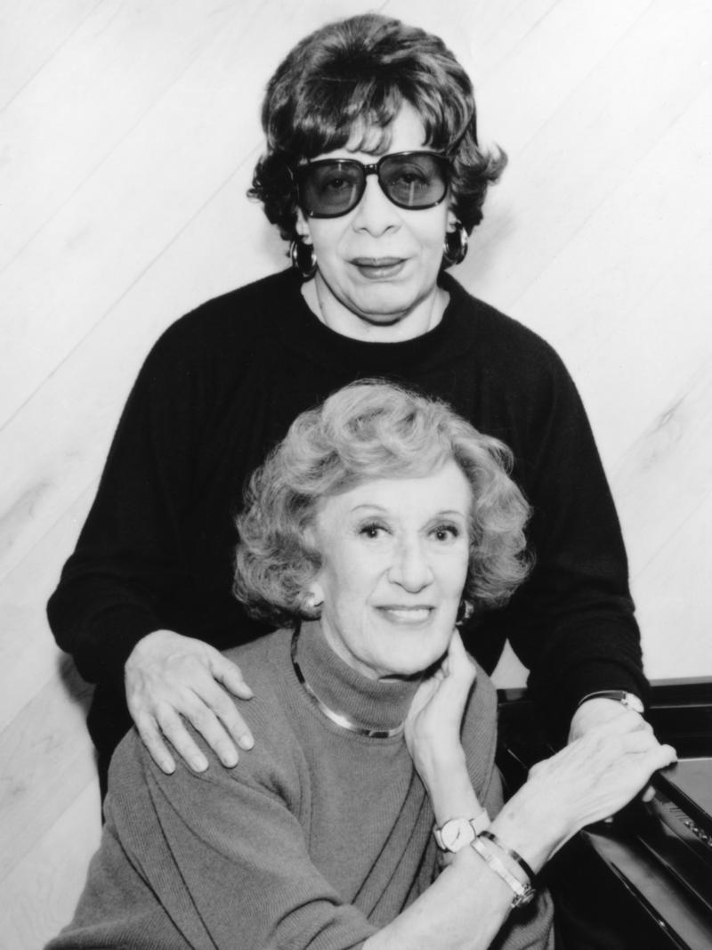 Marian McPartland and Shirley Horn, New York City, 1995