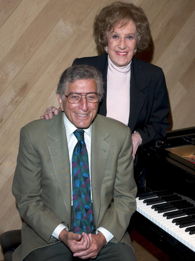 Tony Bennett and Marian McPartland, Manhattan Beach Studios, New York City, 2004.