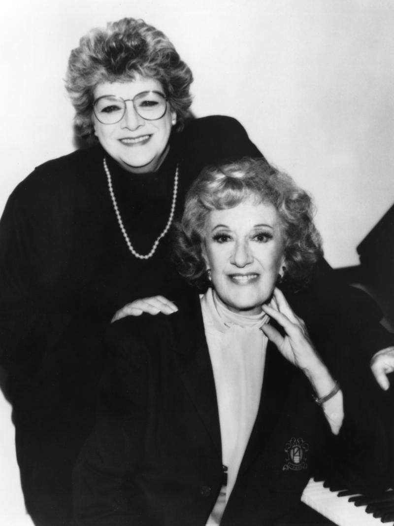 Marian McPartland with Rosemary Clooney, 1991