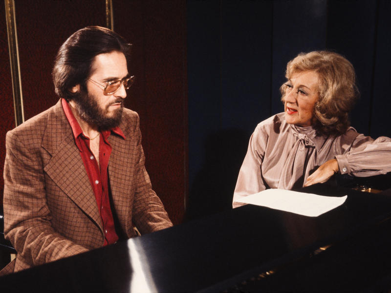 Marian McPartland with Bill Evans, New York, 1979