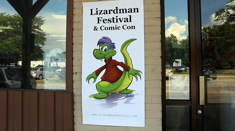 The first annual Lizardman Festival and Comic Con was  held June 8-10 at the S.C. Cotton Museum in Bishopville.