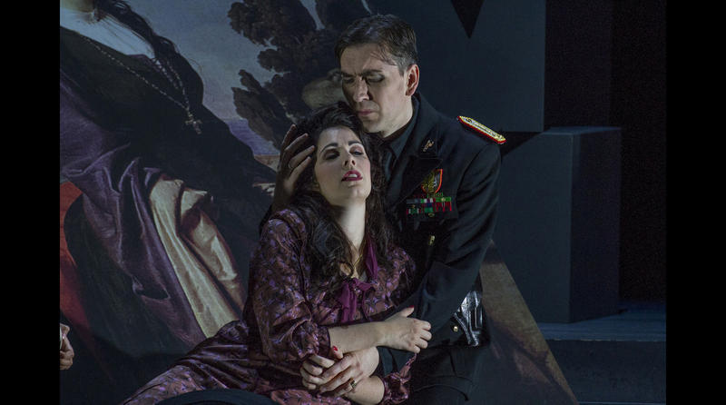 Amanda Woodbury and Valdis Jansons in the US premiere of Donizetti's Pia de' Tolomei.