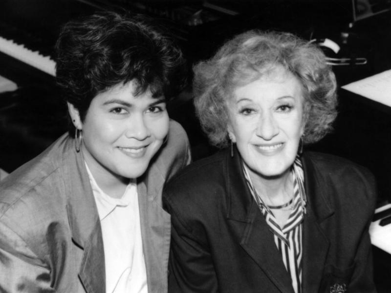 Marian McPartland with Sumi Tonooka, 1992