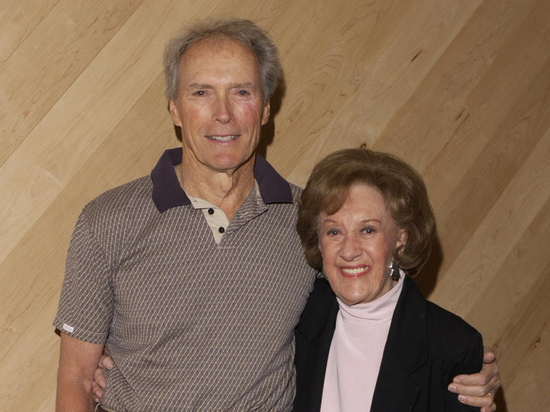Marian McPartland with Clint Eastwood, Manhattan Beach Studios, New York City, 2003